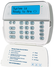 DSC Alexor wireless keypad home enhancement systems products  at bakdesigns.co
